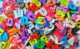 Colorful Alphabet Buttons