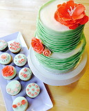 Cake and cupcakes @ Little Delights Bakery