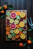 Sliced Citrus Fruit by Edgar Castrejon