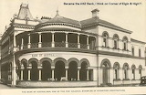 Maitland Bank of Australasia cnr of High & Elgin Sts