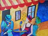 Night Café, di Alina Brichese