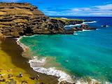 Papakolea Green Sand Beach-Hawaii