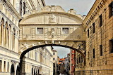 The Bridge of Sighs Venice Italy