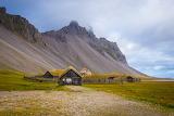 reconstructed viking village Iceland