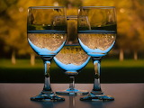 ^ Three Glasses ~ Patrick Kramer