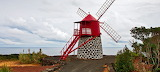Windmill. Santa Maria Island. Azores