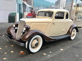 1934 Ford 5 window Coupe.