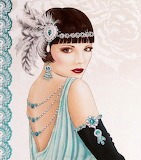 Lady Flapper Girl