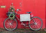 ^ Christmas bike