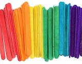 Colored sticks