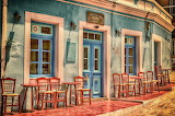 Cafe in griechenland