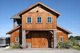 Wood and Stone Barn