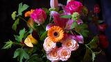 #Rose and Gerbera Delight