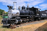 D&RGW Locomotive #318 Rio Grande at Golden, Colorado