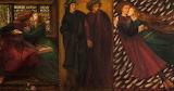 Paolo and Francesca, 1862, Dante Gabriel Rossetti