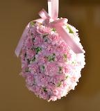 Hanging Easter egg bouquet