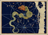 "Science scientificillustration celestial-cartography Draco ""Joha"