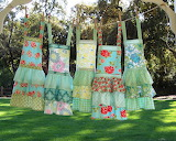 ^ Young girls aprons