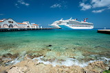 Cruise ships at Cozumel, Mexico