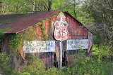 Old Barn with Signs