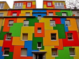 ^ Colorful Houses