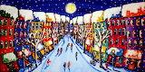 ChristmasShoppingCityscape_RenieBritenbucher