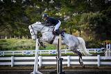 David Collett riding Buster Brown
