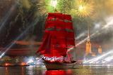 Saint-Petersburg. Scarlet sail.