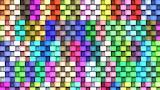 Colored, Quadrants, texture, lines, squares