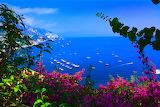 Italy-europe-scenery-paradise-boats-sea-flowers