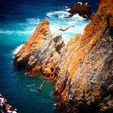 La Quebrada Cliff Divers. Acupulco. Mexico