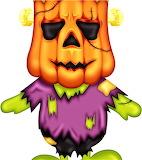 Frankenstein Pumpkin Monster
