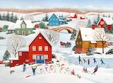 The Snow Family by Wilfrido Limvalencia...