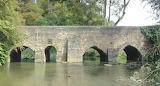 bridge over the River Cherwell, Lower Heyford, England