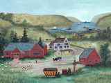 Farm on the Hudson- Janet Munro