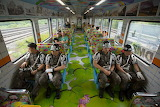 DMZ Peace Train carries South Korean soldiers and tourists from