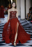 Flowy Red Gown