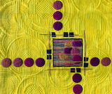 YellowPurpleArtQuilt