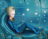 Ray Caesar, Girl in blue