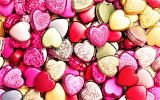 #Foil Wrapped Chocolate Hearts