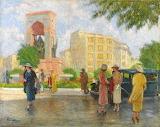 Nazmi Ziya Güran: Taksim Square (1935)