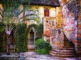 Southern Vintage Courtyard
