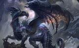 Dragon wings profile rock