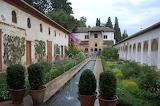 Generalife Gardens, Granada, Andalucia