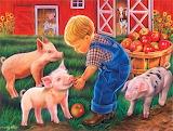 #Little Farm Boy by Tricia Reilly-Matthews