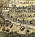 Ralph Allen's crane 1758 View of Bath