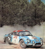 A110 @ Rallye San Remo