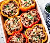 #Delish Stuffed Peppers