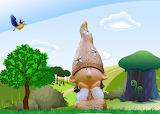 Leprechaun fairy tale fantasy