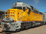 Union Pacific EMD GP30. 1962.